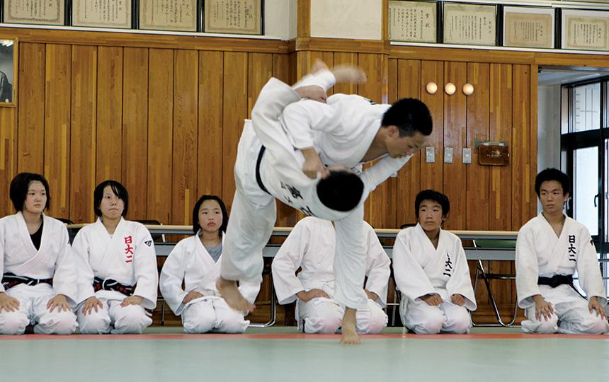 柔道部   日本大学第二中学校・高等学校